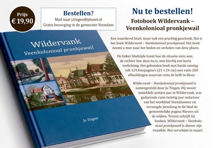 Boek Wildervank flyer